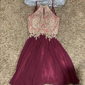 Short homecoming/formal dress